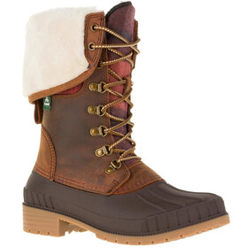 Kamik Siennaf2 Shoes Women dark brown-brun fonce